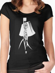 I mean business - Series 2 Women's Fitted Scoop T-Shirt