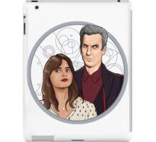 The Twelfth Doctor and Clara Oswald iPad Case/Skin