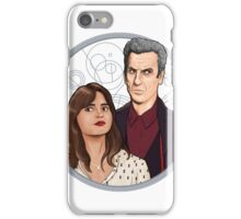 The Twelfth Doctor and Clara Oswald iPhone Case/Skin