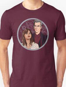 The Twelfth Doctor and Clara Oswald T-Shirt