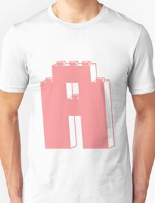 THE LETTER A, Customize My Minifig T-Shirt