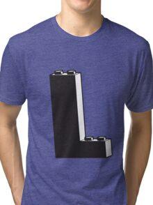 THE LETTER L Tri-blend T-Shirt