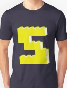 THE LETTER S, Customize My Minifig T-Shirt