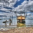 Silver Spray - West Mersea by Nigel Bangert