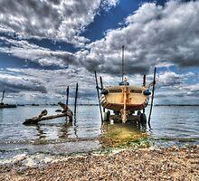 Silver Spray - West Mersea by Nigel Bangert