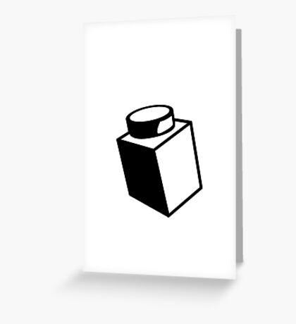 1 x 1 Brick Greeting Card