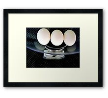 TRIPLED WEIGHT ^ Framed Print