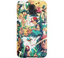pikachu and ash 4ever friends Samsung Galaxy Case/Skin