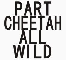Part Cheetah All Wild Kids Tee