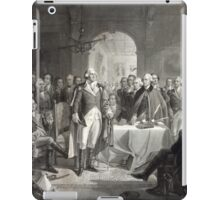 George Washington and His Generals iPad Case/Skin