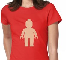 Minifig [Flesh Pink], Customize My Minifig Womens Fitted T-Shirt