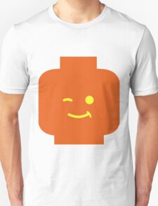 Minifig Winking Head Unisex T-Shirt