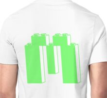 THE LETTER M, Customize My Minifig Unisex T-Shirt