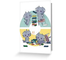 spurrs pokemons playing Greeting Card