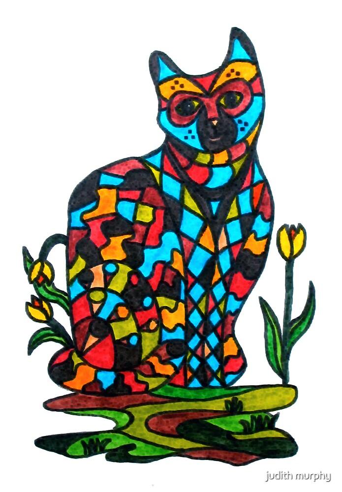 Jazz Cat by judith murphy