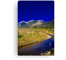 Autumn in The High Country Canvas Print