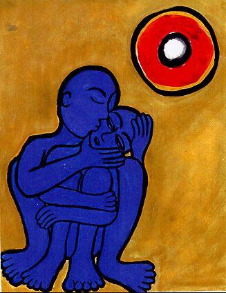blue people by Amanda Suutari