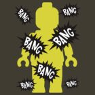 Minifig BANG BANG BANG by Customize My Minifig