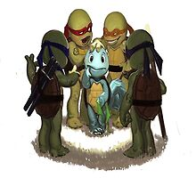 squirtle is a turttle ninja lost by danocerebral69