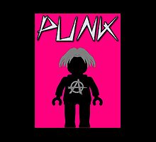Punk Guitarist Minifig, Customize My Minifig by ChilleeW