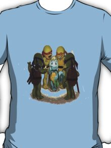 squirtle is a turttle ninja lost T-Shirt