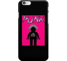 Punk Guitarist Minifig, Customize My Minifig iPhone Case/Skin