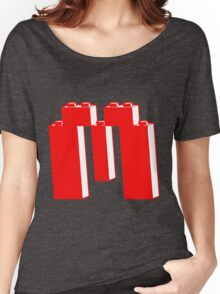THE LETTER M, Customize My Minifig Women's Relaxed Fit T-Shirt