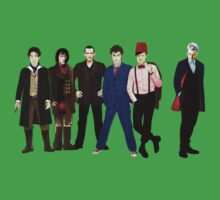 Doctor Who - The Six Doctors Kids Clothes