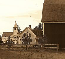 Country Church 2 by Gene Cyr