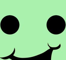Cheeky Minifig Head Sticker