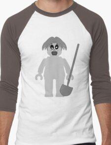 Zombie Minifig, Customize My Minifig Men's Baseball ¾ T-Shirt