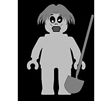 Zombie Minifig, Customize My Minifig Photographic Print