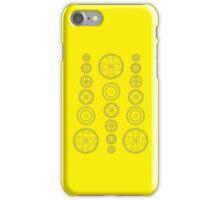 Cog Gear Wheels Pattern iPhone Case/Skin