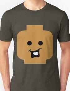 Cheeky Minifig Head Unisex T-Shirt