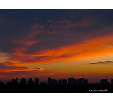 Cloud volume Photographic Print