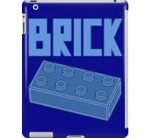 Blue Brick, Customize My Minifig iPad Case/Skin