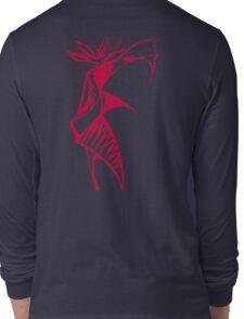 Red Warrior Queen Long Sleeve T-Shirt