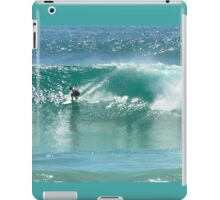 Surfing at Burleigh Heads #4 iPad Case/Skin