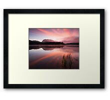 Heavens Unfolded Framed Print