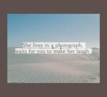 Quote in the desert Baby Tee