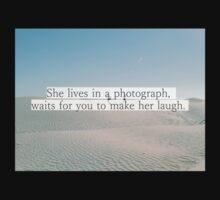 Quote in the desert Kids Tee