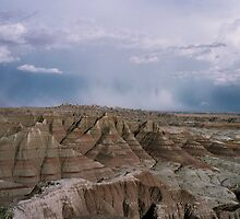 Badlands View by Faustus