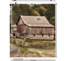 Down a rural road iPad Case/Skin