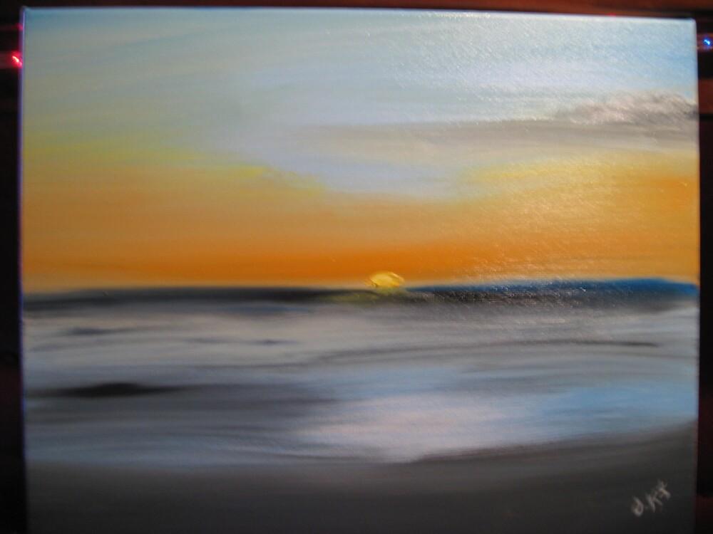 sunset by cokomoe