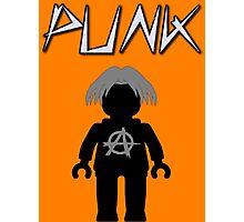 Punk Guitarist Minifig, Customize My Minifig Photographic Print