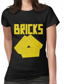 Yellow Bricks, Customize My Minifig Womens Fitted T-Shirt