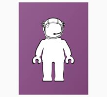 Banksy Style Astronaut Minifig,  Customize My Minifig Kids Clothes