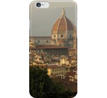 Hot Summer Afternoon in Florence, Italy iPhone Case/Skin