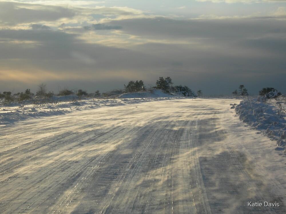Snow Cross Streets by Katie Davis