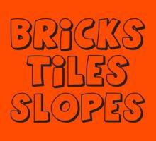 'Bricks, Tiles, Slopes' Kids Tee